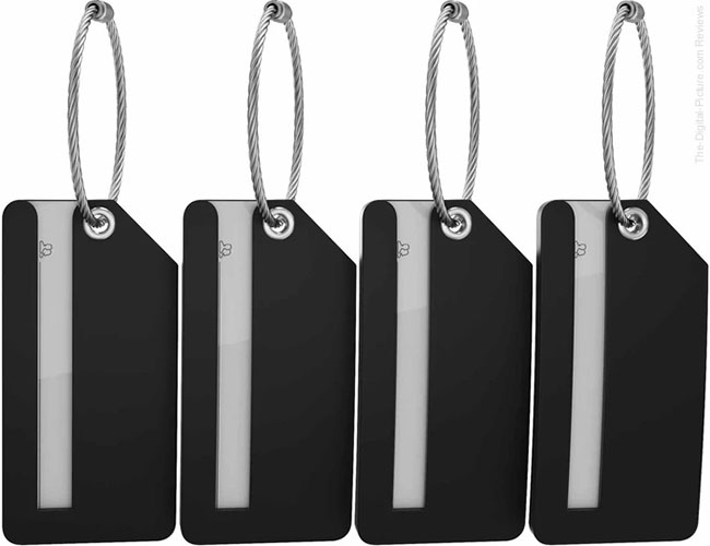 Shacke's Mini Luggage Tags