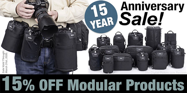Think Tank Photo Celebrates 15 Years with 15% Off Modular Gear