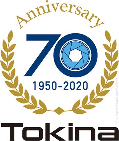 Tokina 70th Anniversary Logo