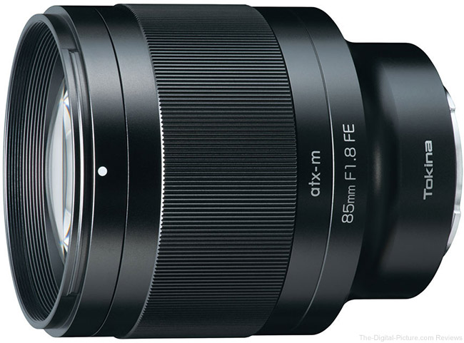 Tokina atx-m 85mm f/1.8 FE Lens for Sony E