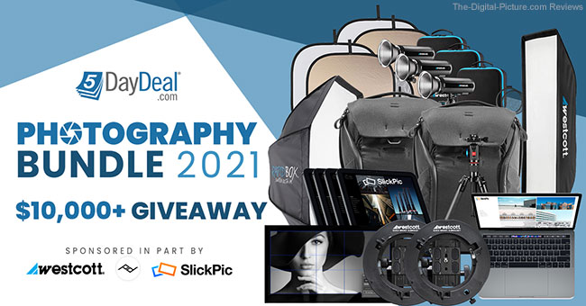 No Brainer: Sign up for the 5DayDeal Photography Bundle 2021 $10,000.00 Giveaway