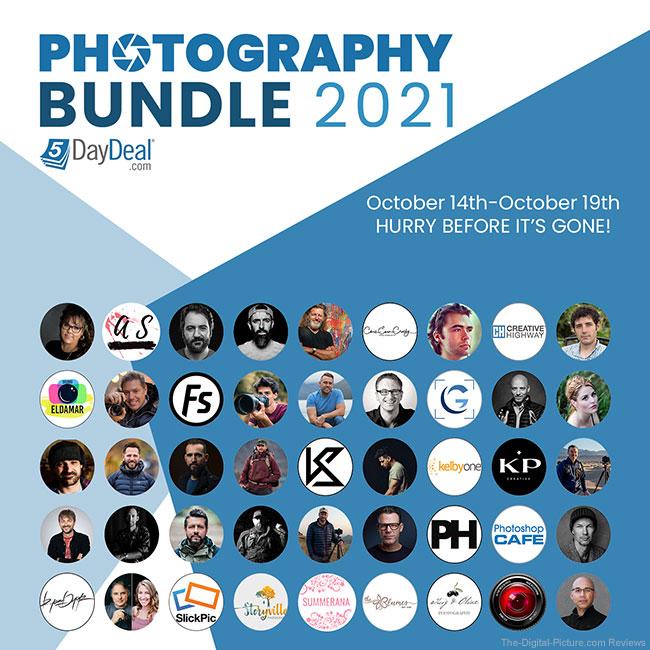 5DayDeal Photography Bundle 2021