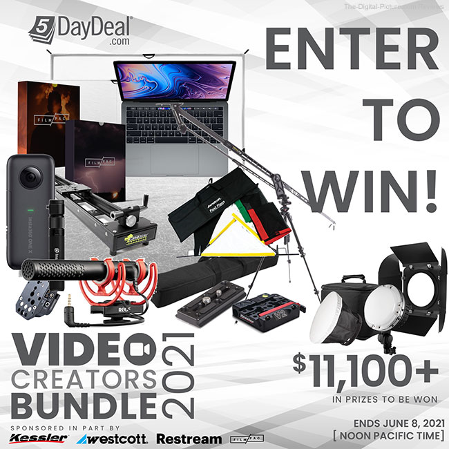 5DayDeal's The Complete Video Creators Bundle 2021 Giveaway