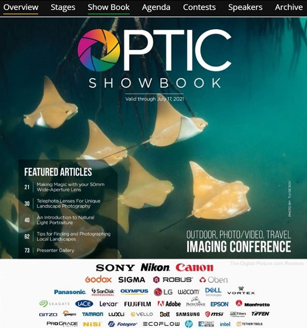 Now Available: B&H Optic Conference 2021 Show Book Features Articles, Deals