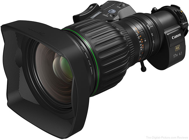 Canon Announces CJ17ex6.2B 4K UHD Portable Zoom Lens