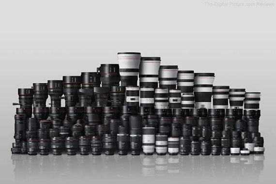 Canon EF and RF Lens Lineup