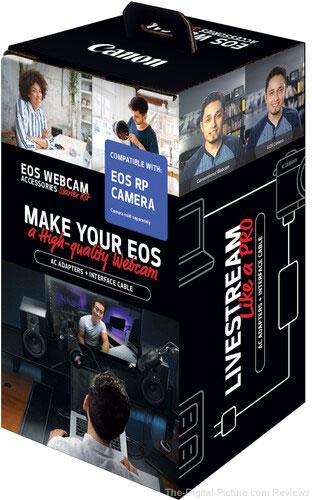 Canon EOS Webcam Accessories Starter Kit