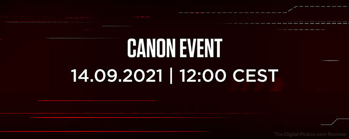 Canon Announces Announcement Date and Time