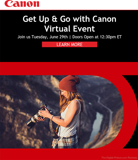 Canon Get Up and Go Virtual Event