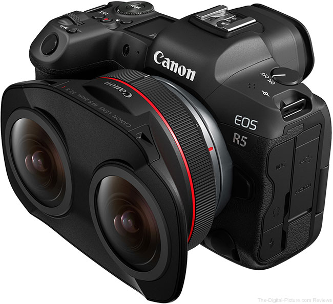 Canon Introduces the RF 5.2mm F2.8 L Dual Fisheye Lens