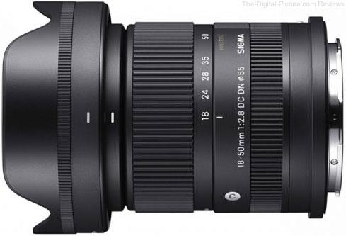 Sigma 18-50mm F2.8 DC DN Contemporary Lens