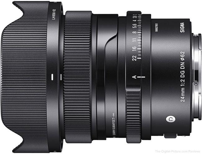 Sigma Announces 24mm f/2 DG DN Contemporary Lens