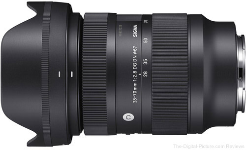 Sigma Issues Service Notice for 28-70mm F2.8 DG DN Contemporary Lens