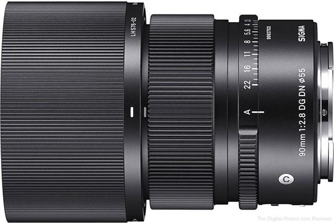 Sigma Announces 90mm F2.8 DG DN Contemporary Lens