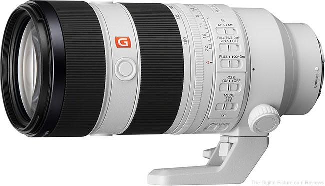 Sony FE 70-200mm F2.8 GM OSS II Lens