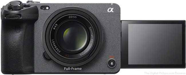 Sony Announces FX3 Full-Frame Cinema Camera