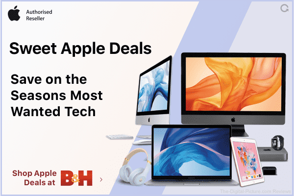 "Big ""Sweet Apple Deals"" Sale at B&H"