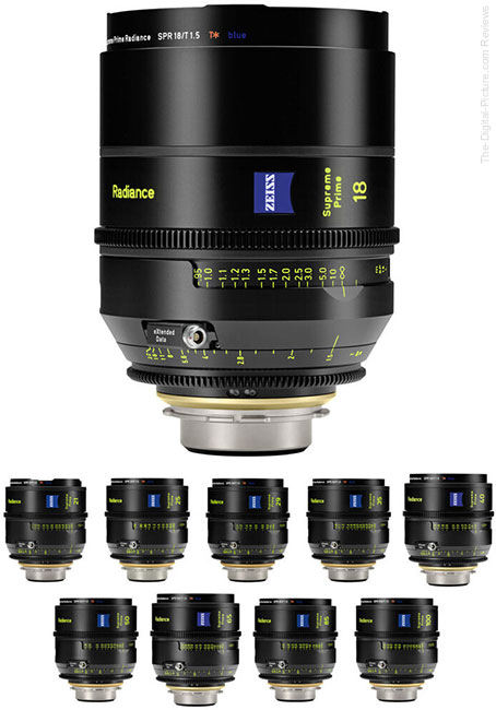 10 New Lenses and 4 Lens Sets Join the ZEISS Supreme Prime Lens Family