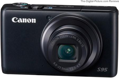 Canon PowerShot S95 IS Camera