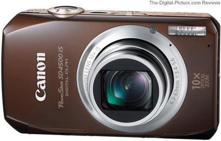 Canon PowerShot SD 4500 IS Camera