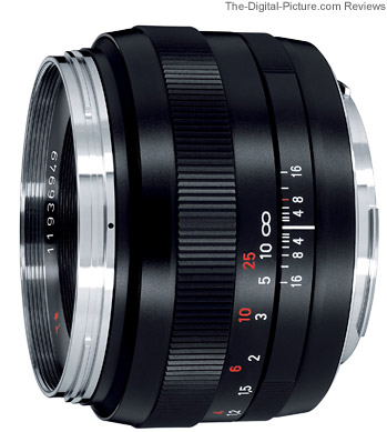 Carl Zeiss Canon EF-Mount Lens - Carl Zeiss Planar T* 1.4/50 ZE with EF bayonet