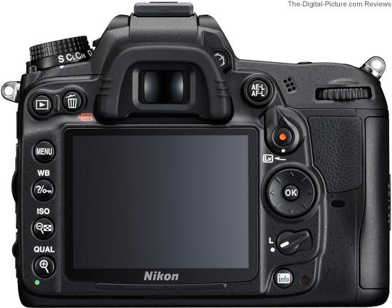 Nikon D7000 DSLR Camera Back