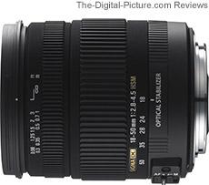 Sigma 18-50mm f/2.8-4.5 DC OS HSM Lens