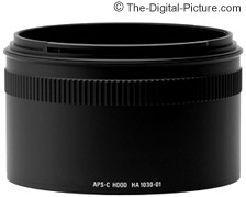 APS-C Hood Adapter HA1030-01 for the Sigma APO 50-500mm F4.5-6.3 DG OS HSM