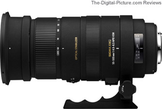 Sigma APO 50-500mm f/4.5-6.3 DG OS HSM Lens