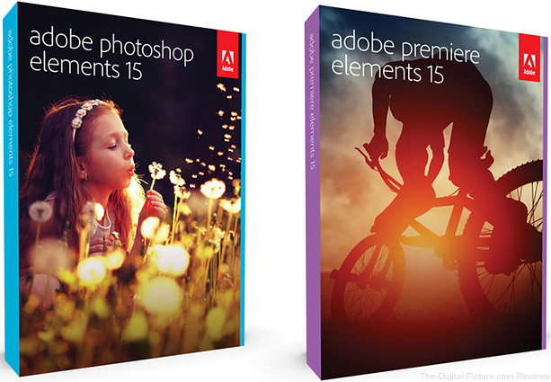 Adobe Photoshop & Premiere Elements 15 On Sale