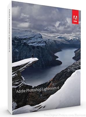 Just Announced: Adobe Photoshop Lightroom 6
