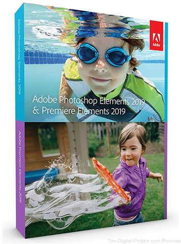 Adobe Announces Photoshop/Premiere Elements 2019