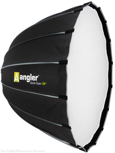 "Angler Quick-Open Deep Parabolic Softbox (36"")"