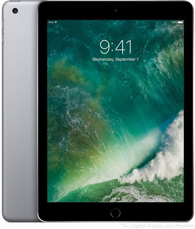 "Apple 9.7"" iPad (2017, 128GB, Wi-Fi Only, Space Gray) - $379.00 Shipped (Reg. $429.00)"