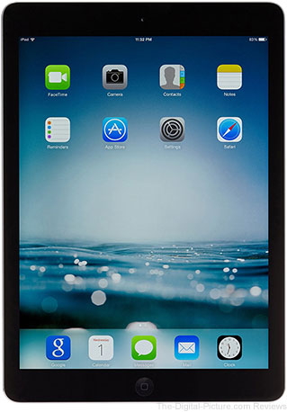 Apple iPad Air, 32GB / Wi-Fi / Black with Space Gray