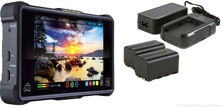Atomos Shogun Inferno with Power Kit