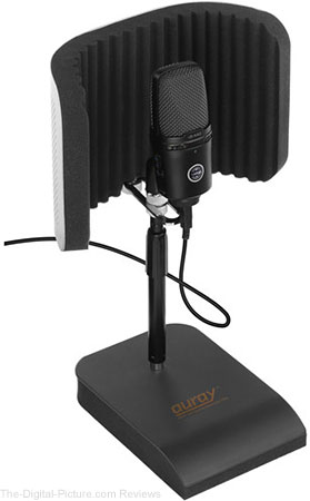 Auray RFDT-128 Desktop Reflection Filter and Mic Stand - $39.95 Shipped (Reg. $79.95)