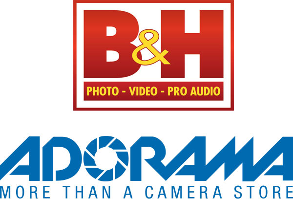 B&H Photo Video Superstore and Adorama Logos