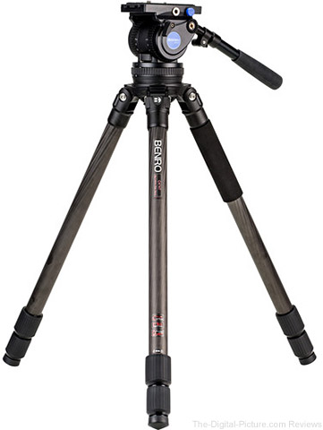 Benro Carbon Fiber Tripod Kit with BV10H Head (100mm) - $499.00 Shipped (Reg. $1,199.00)