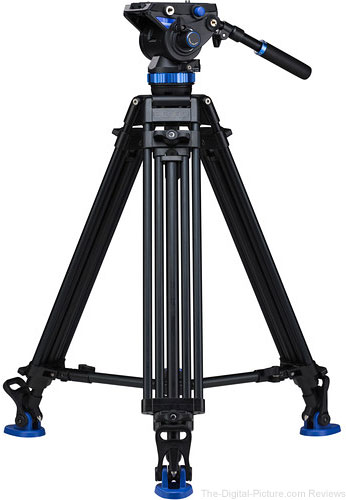 Benro S8 Dual Stage Video Tripod Kit