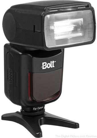 Bolt VX-760C Wireless TTL Flash for Canon Cameras - $119.00 Shipped (Reg. $269.00)