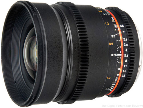 Bower 16mm T2.2 Cine Lens for Nikon F Mount - $199.00 Shipped (Reg. $469.00)