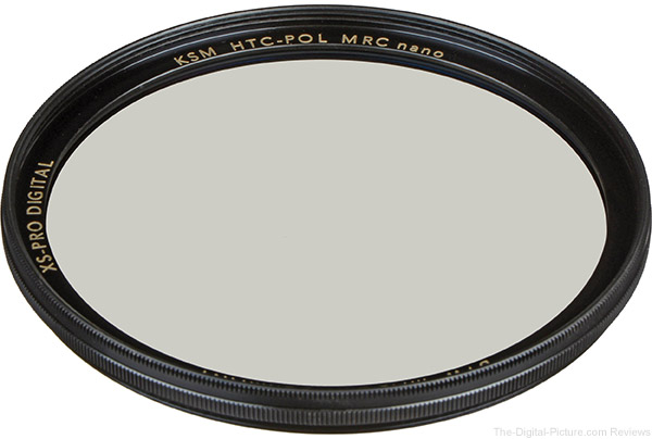 B W 77mm XS-Pro Kaesemann High Transmission Circular Polarizer MRC-Nano Filter (OB) - $84.95 Shipped