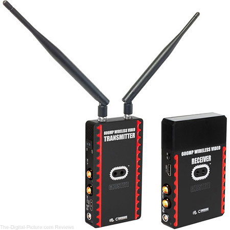 CINEGEARS Ghost-Eye 600MP Wireless Transmitter and Receiver (Gold Mount/L-Series) - $1,199.00 Shipped (Reg. $1,450.00)