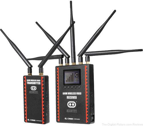 CINEGEARS Ghost-Eye Wireless HDMI & SDI Video Transmission Kit 600M (V-Mount)