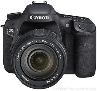 Just Announced: Canon EOS 7D L DSLR Camera