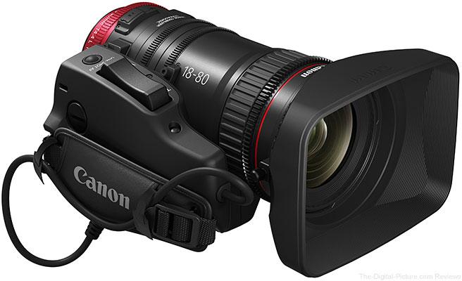 Canon Announces Compact-Servo 18-80mm Zoom Lens