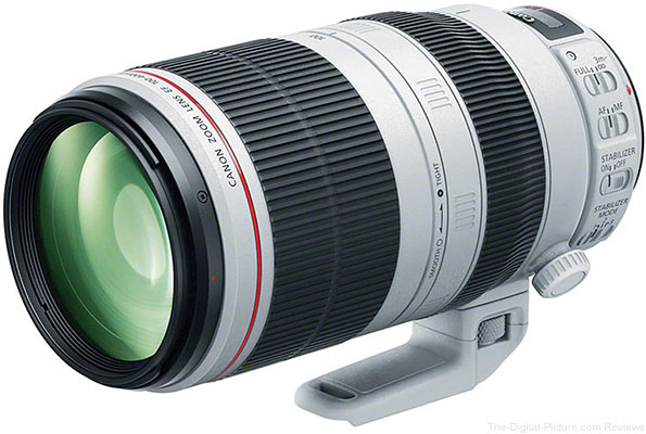Used Canon EF 100-400mm f/4.5-5.6L IS II USM Lens (9+) - $1,638.95 Shipped (Compare at $1,999.00 New)