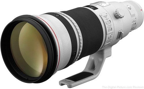 Canon EF 500mm f/4L IS II USM Lens