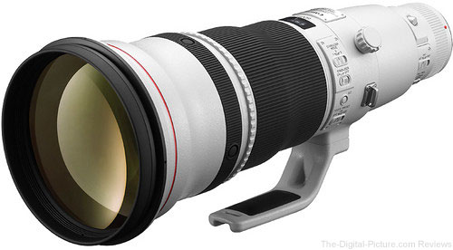 Used Canon EF 600mm f/4L IS II USM Lens (9) - $9,749.95 Shipped (Compare at $11,499.00 New)